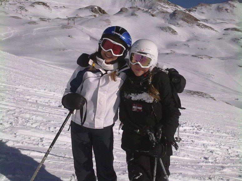 Mis más jabatas........no se puede esquiar mejor ni en mejor compañia con mis Miniyosssss.
